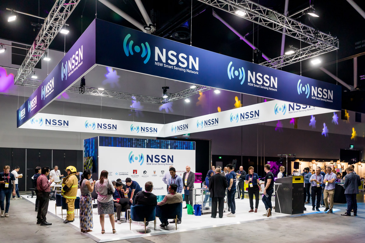 Corporate Event Photography - NSSN stand at CEBIT Australia at the ICC Sydney