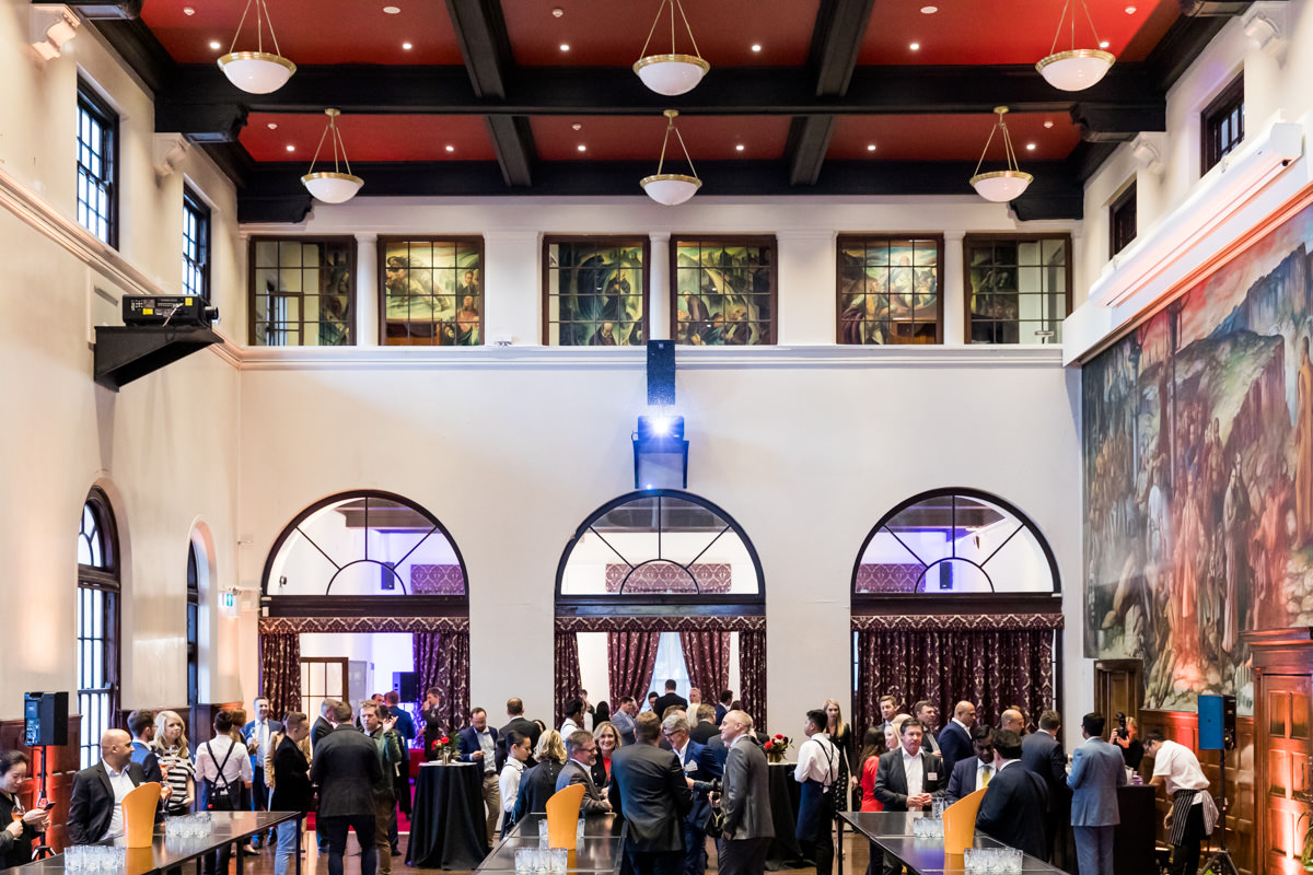 Corporate Event Photography - Networking event at Sydney University